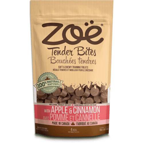 Zoe Dog Tender Bits Apple & Cinnamon, Dog Treats, Rolf C Hagen Inc. - PetMax Canada