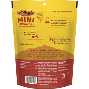 Zukes Dog Treats Mini Naturals Chicken  Dog Treats - PetMax