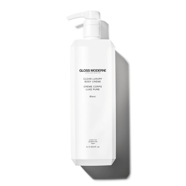 Clean Luxury Body Crème (Deluxe Liter Size) - Blanc