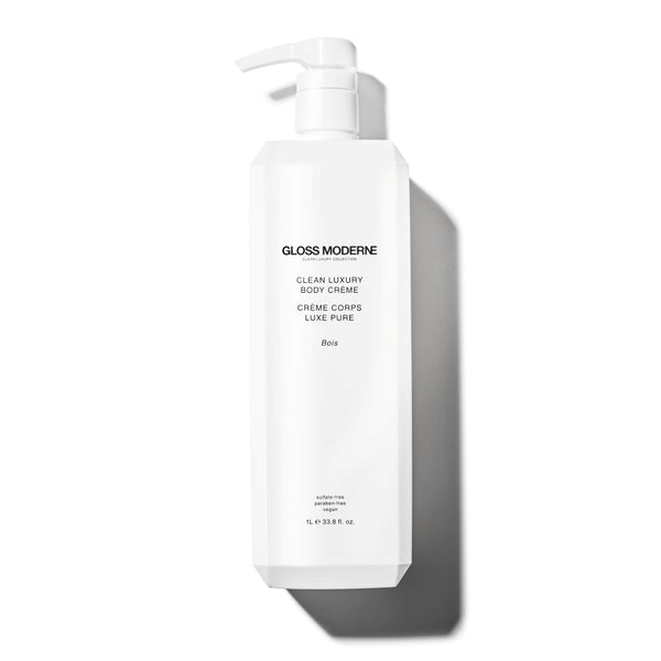 Clean Luxury Body Crème - Bois (Deluxe Liter Size)