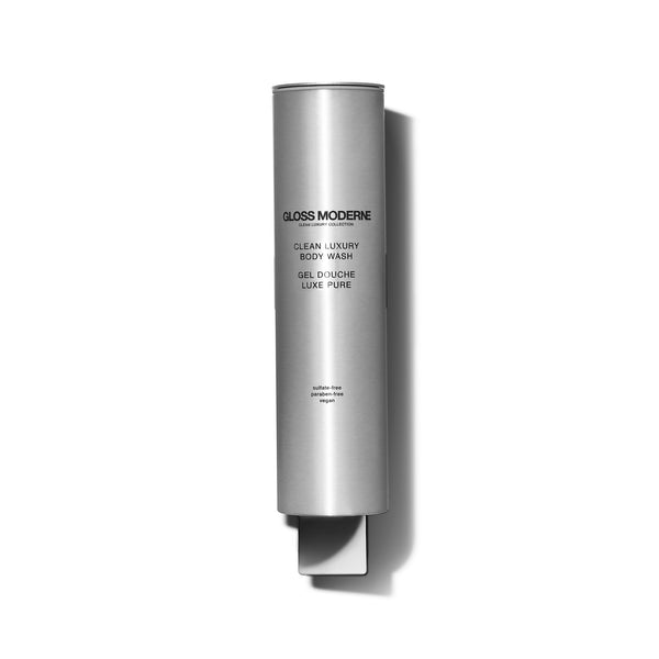 Contemporary Brushed Silver Dispenser (Body Wash)