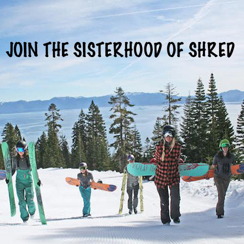 Drop into the Sisterhood