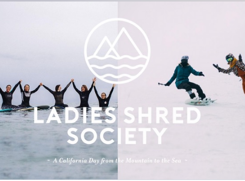 Shred and surf with Coalition Snow and Ladies Shred Society
