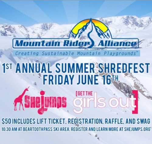 Summer ShredFest with Coalition Snow