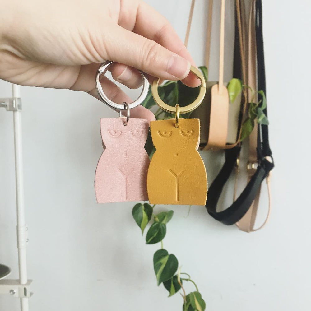 Load image into Gallery viewer, Small Hours Workshop | Lady Key Fob