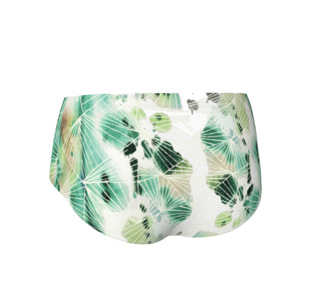 Mini Shorts | Brazen Jade Flame