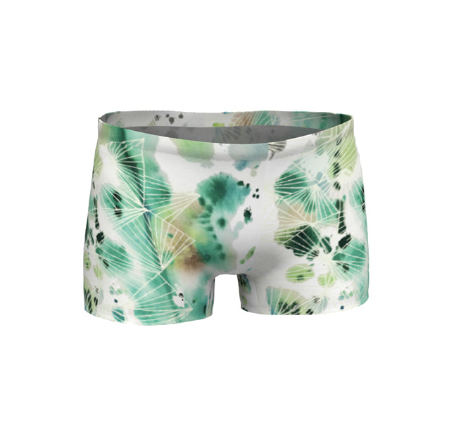 Women Shorts | Brazen Jade Flame