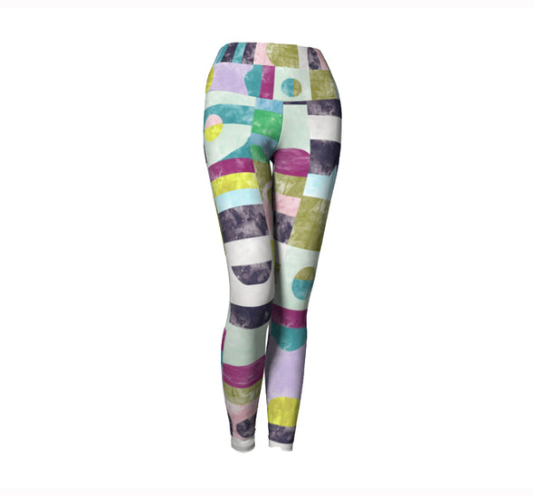 Leggings | Chrome Pony Sunrise