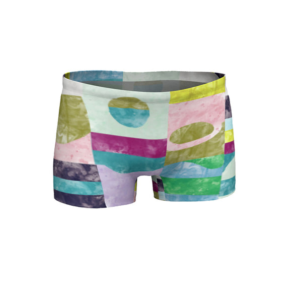 Women Shorts | Chrome Pony Sunrise