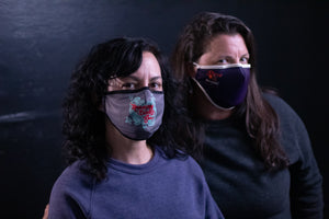 Load image into Gallery viewer, Shred the Patriarchy Face Mask