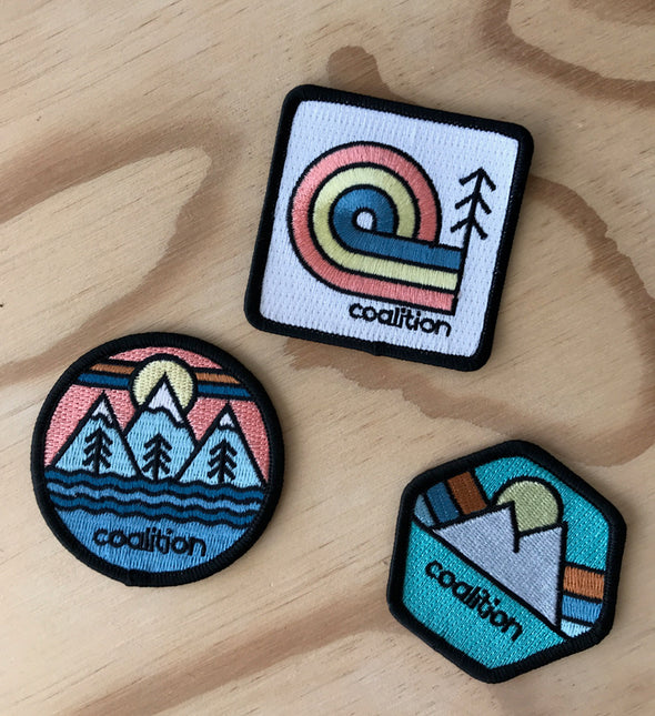 Home Range Woven Patches