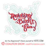 Stickers | Resisting Bitch Face