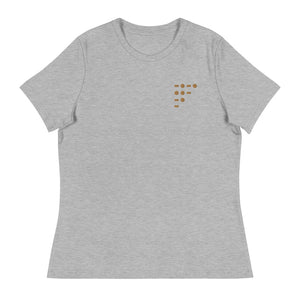 Morse Code Cunt | Embroidered Tee