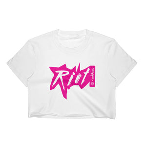 4 Letter Words | Riot Color Crop Top