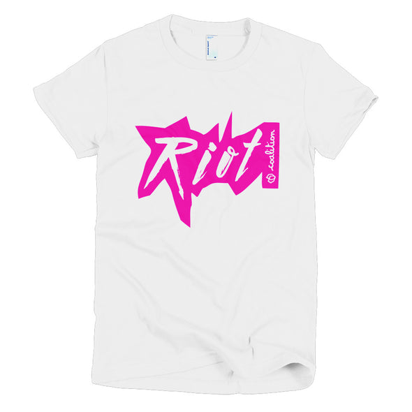 4 Letter Tees | Riot Color Short Sleeve Women's Tee
