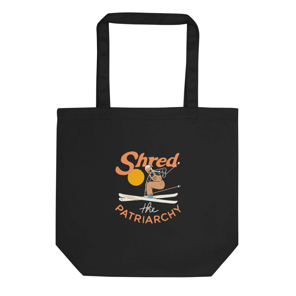 Shred The Patriarchy | Eco Tote Bag