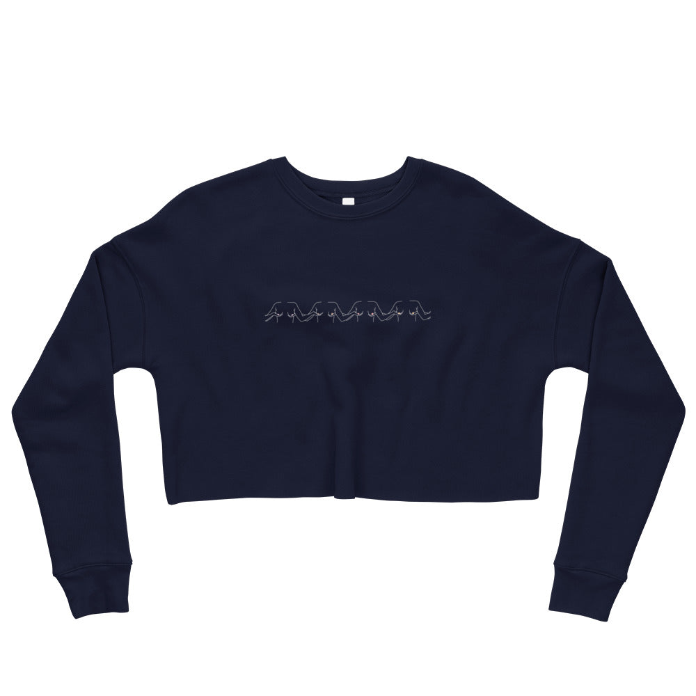 Support Each Other | Crop Sweatshirt