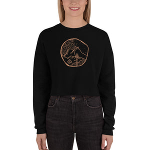 Load image into Gallery viewer, Wanderlust | Crop Sweatshirt