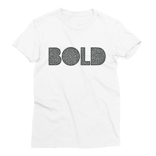 4 Letter Tee | Bold Tee White