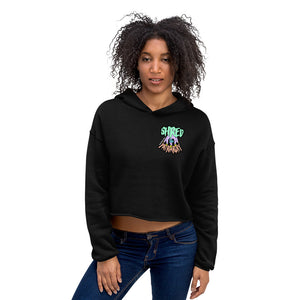 Shred The Patriarchy | Crop Hoodie