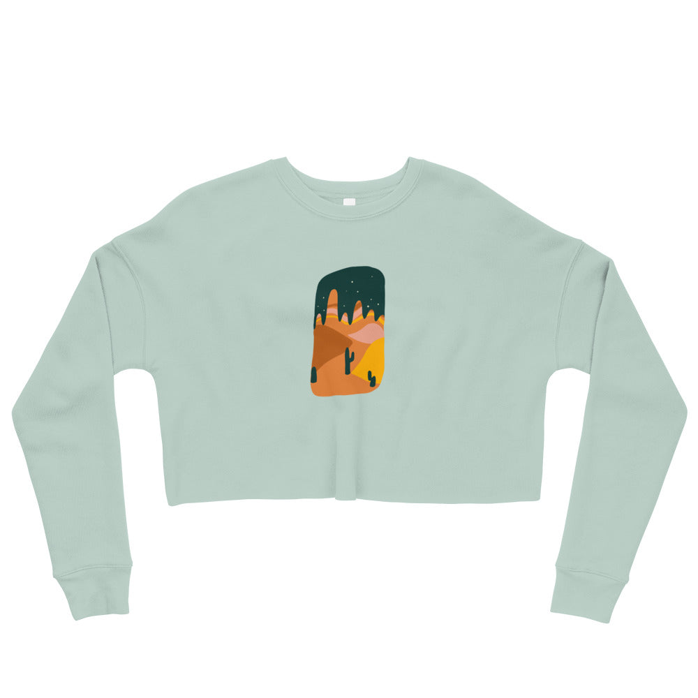 Load image into Gallery viewer, Desert Solitaire | Crop Sweatshirt