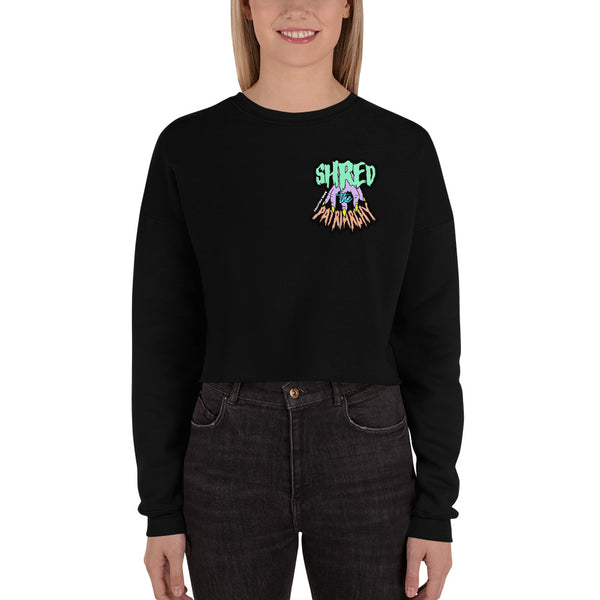 Shred The Patriarchy | Crop Sweatshirt