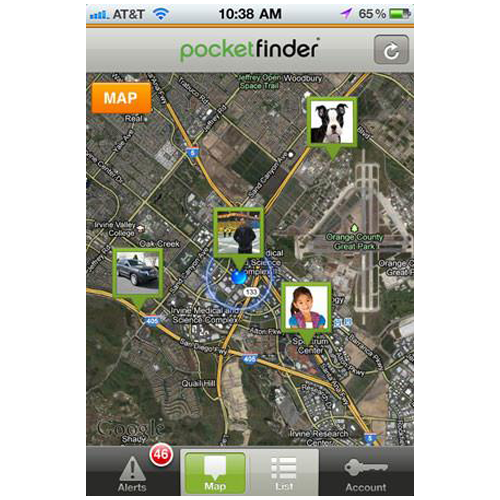 POCKETFINDER+® PERSONAL GPS / Wi-Fi / Cell ID TRACKER FOR LOCATING, MONITORING & SAFETY