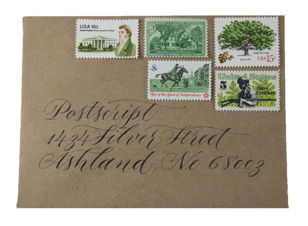 Vintage Postage:  Greenhouse Effect