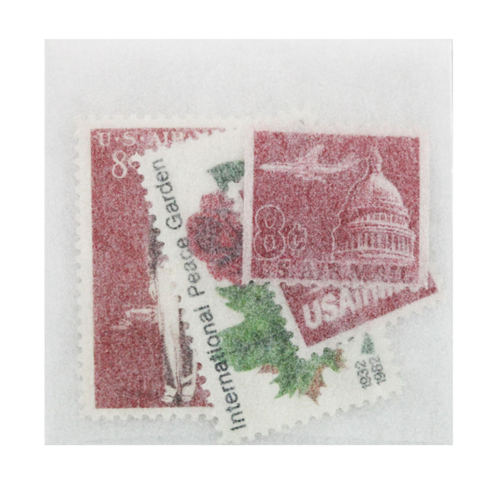 Vintage Postage: Rosy Airmail