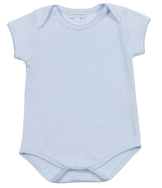 Magnolia Baby Essentials Blue Onesie Bodysuit