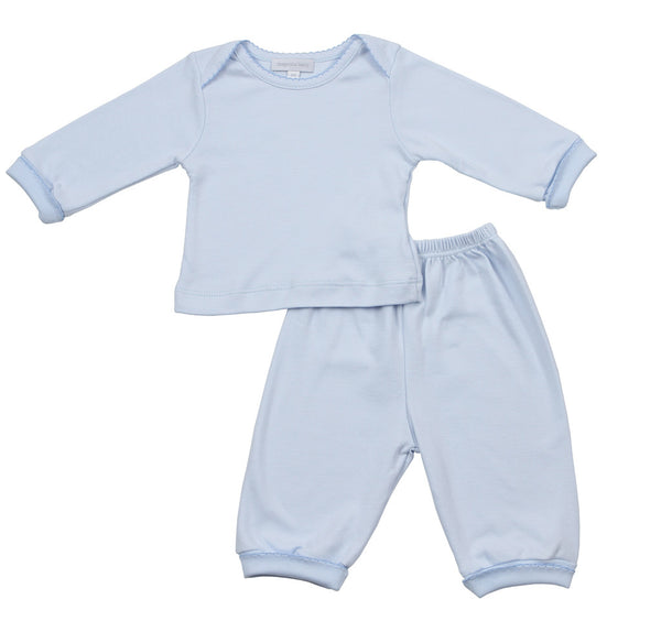 Magnolia Baby Essentials Blue Loungewear Set
