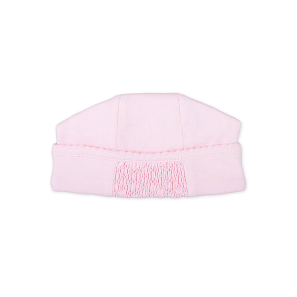 Magnolia Baby Essentials Pink Smocked hat
