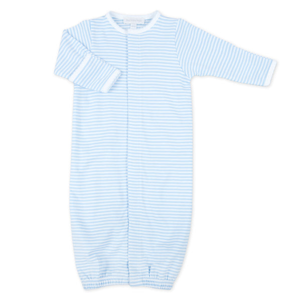 Magnolia Baby Essentials Blue Stripe Gown