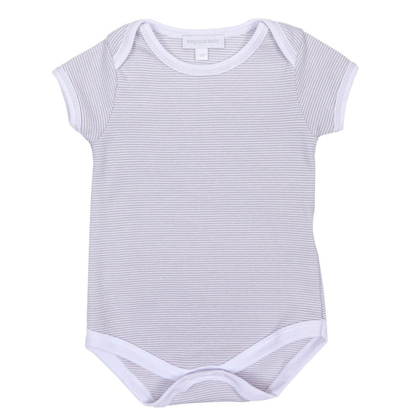 Magnolia Baby Essentials Unisex Mini Stripe Bodysuit