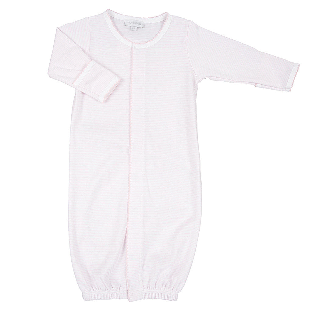 Magnolia Baby Pink Mini Stripe Converter Gown