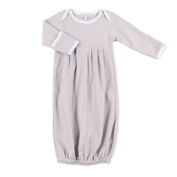 Magnolia Baby Essentials Unisex Mini Stripe Gown