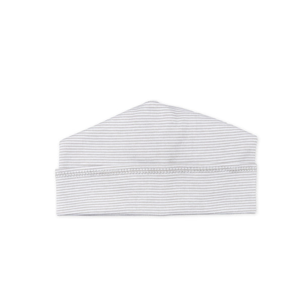 Magnolia Baby Essentials Mini Stripe Silver Hat