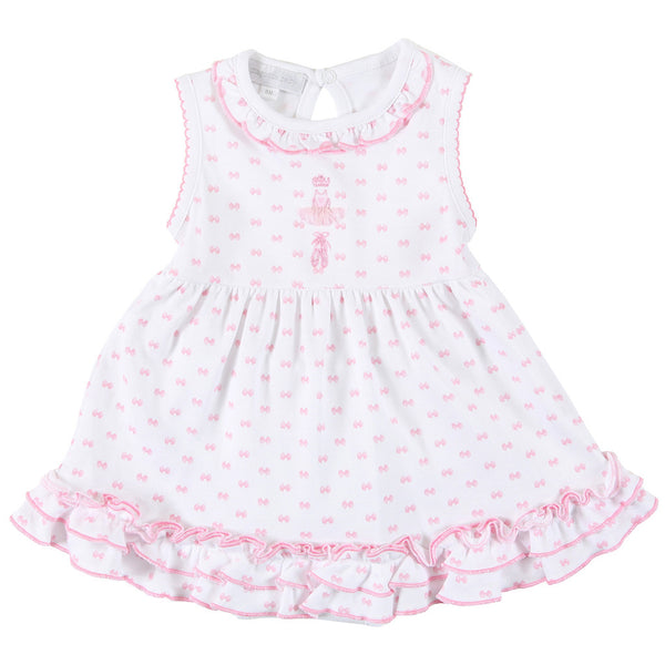 Magnolia Baby Austyn Ballerina Embroidered Dress Set