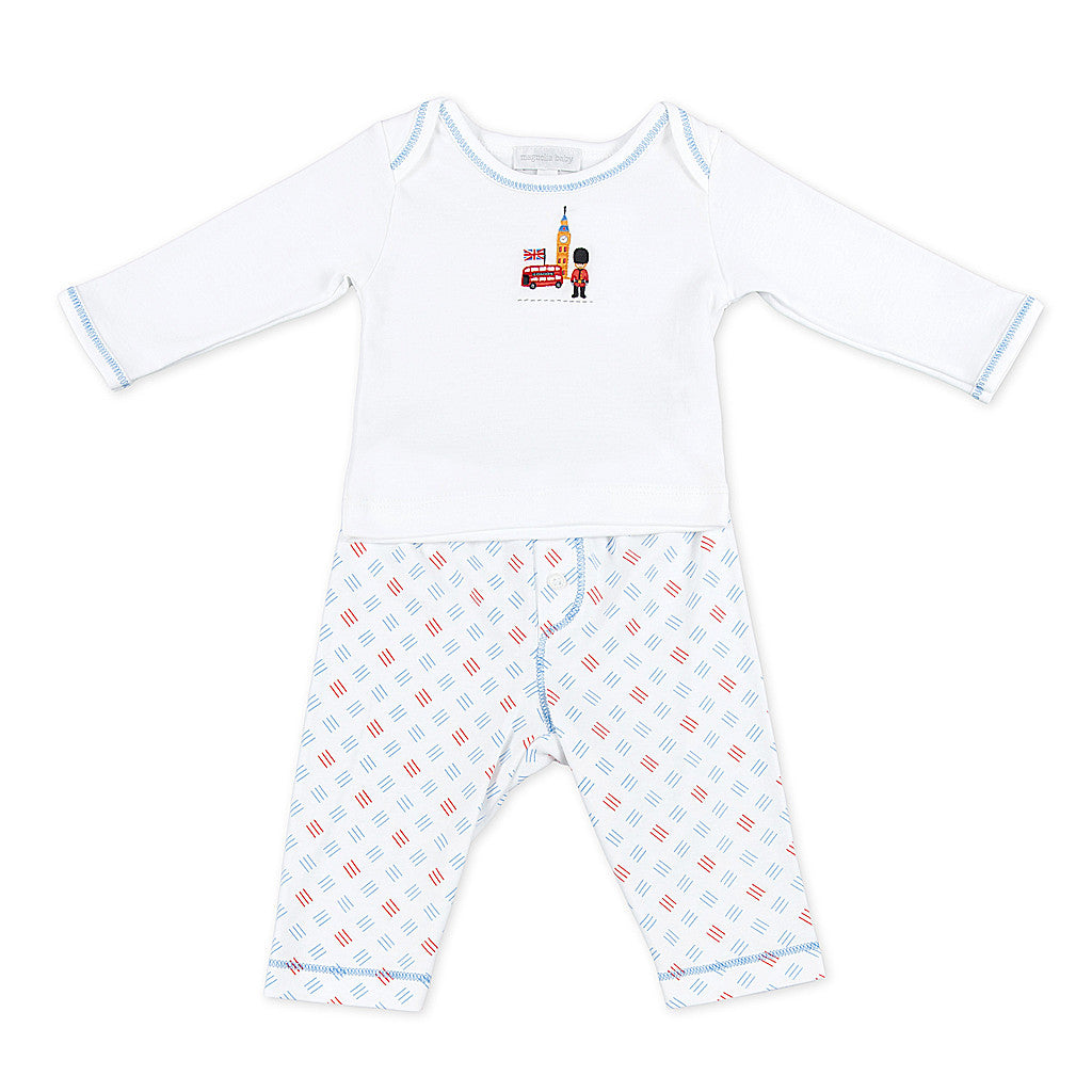Magnolia Baby Essentials London Calling Pant Set