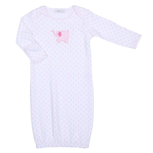 Pink Tons of Love Applique Gown