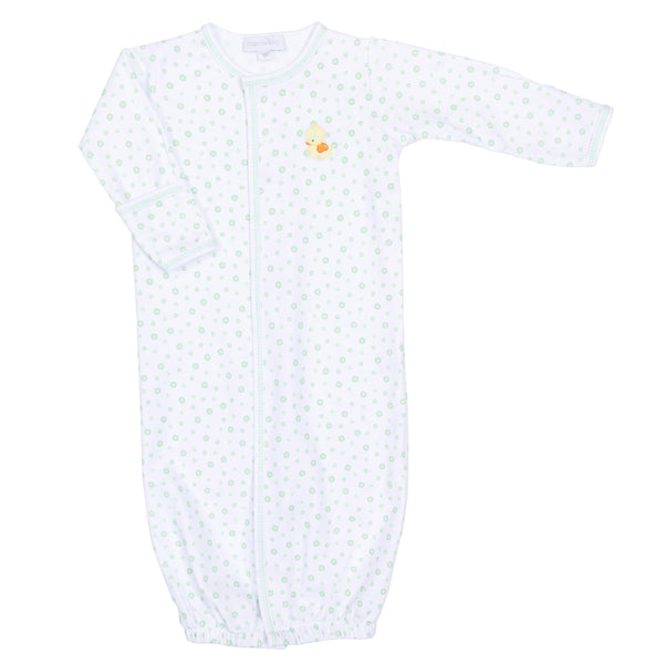 Unisex Bubbles Embroidered Converter Gown