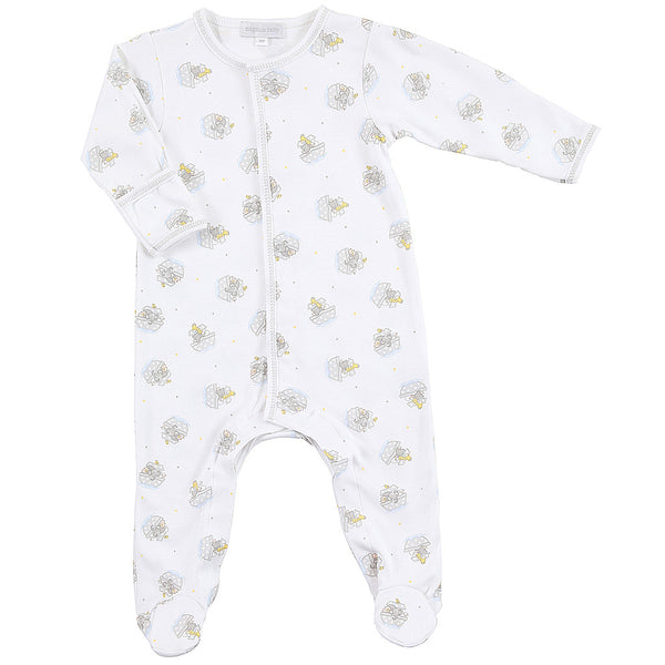 Magnolia Baby Essentials Noah's Friends Unisex Footie