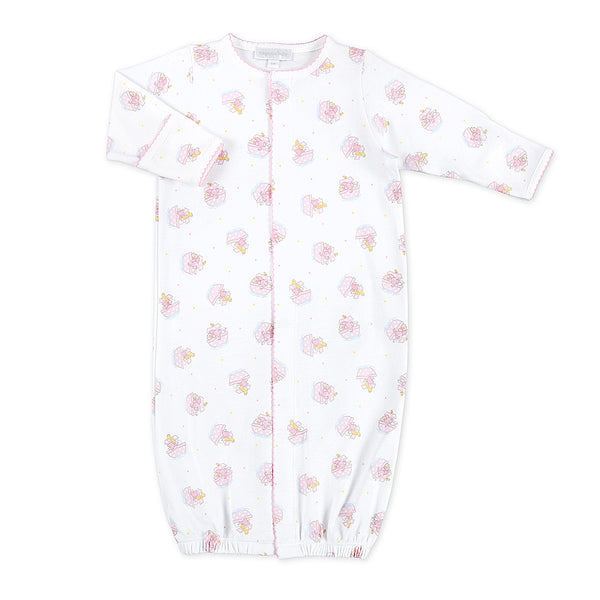 Magnolia Baby Noah's Friends Pink Print Converter Gown