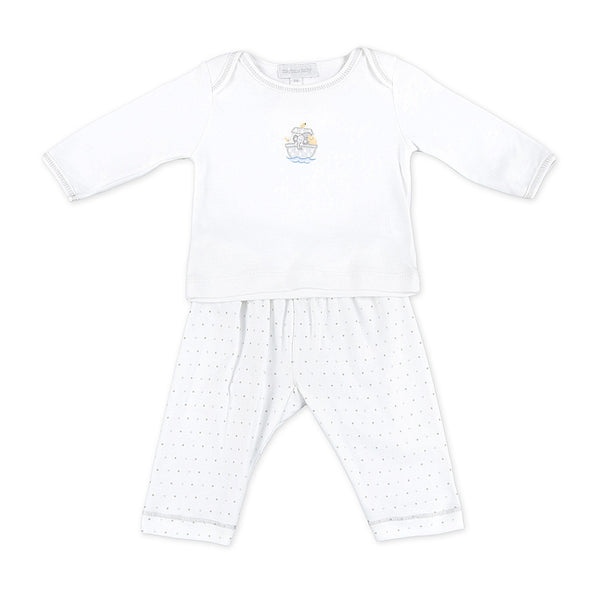 Magnolia Baby Essentials Unisex Noah's Friends Pant Set