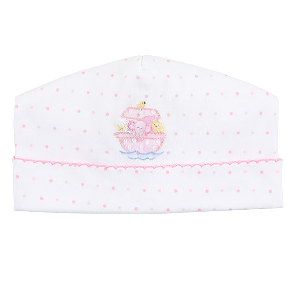 Magnolia Baby Essentials Pink Noah's Friends Embroidered Hat