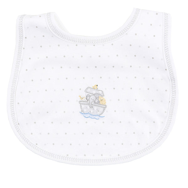 Magnolia Baby Essentials Unisex Embroidered Bib