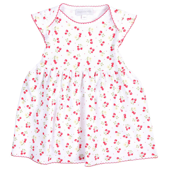 Strawberry Fields Print Dress Set