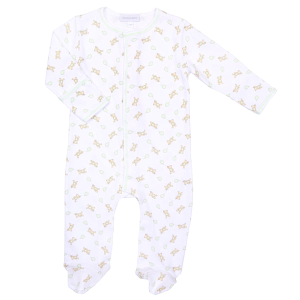 Unisex Beary Sweet Print Footie