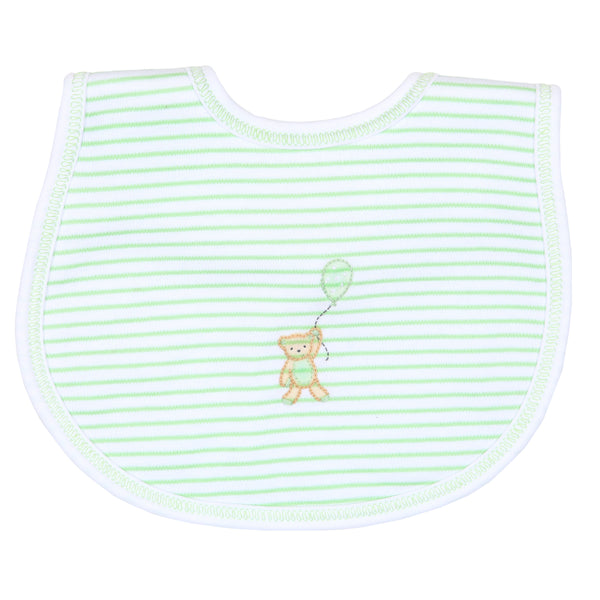 Unisex Beary Sweet Embroidered Bib