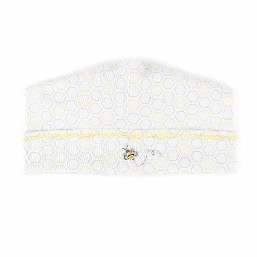 Magnolia Baby Essentials Unisex Busy Bee Embroidered Hat